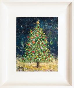 christmas time  |  24x18cm  |  original oil painting SOLD