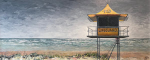 no. 19 at burleigh  |  121x50cm  |  original painting