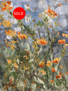 market flowers one  |  18x24cm  |  original painting SOLD