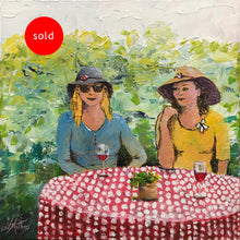 garden party  |  30x30cm  |  original painting SOLD