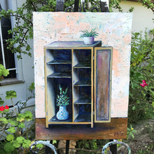 the forgotten cupboard  |  30x40cm  |  original painting SOLD
