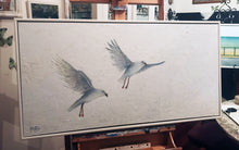 white flight   |  101x50cm   |  original painting SOLD