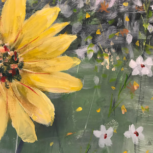shades of sunshine |  76x76cm  |  original painting