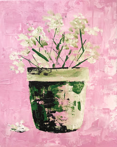 pretty in pink  |  20x25cm  |  original painting SOLD