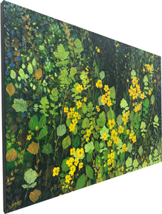 wild patch  |  152x101cm  |  original painting