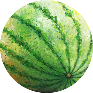 a watermelon  |  50x50cm  |  original painting SOLD