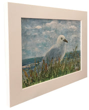 seagull by the sea  |  30x22cm  |  original painting