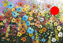 riot of flowers  |  76x51cm  |  original painting SOLD