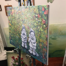 the garden keepers  |  60x45cm  |  original acrylic painting SOLD