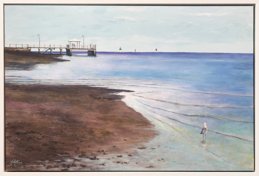 baxters jetty  |  90x60cm  |  framed original painting