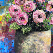pink and blue  |  original painting<br><i>31x61cm on gallery wrapped canvas</i>