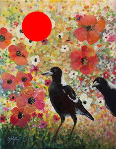the early birds |  35x45cm  |  original painting SOLD