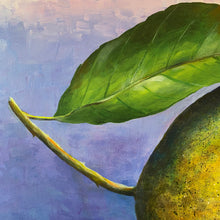bush lemons  |  original painting<br><i>91x91cm on gallery wrapped canvas</i>