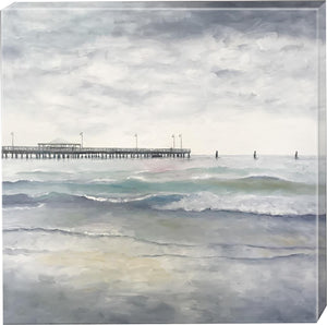 PRINT: old shorncliffe pier  |  75x75cm - from original