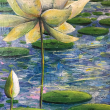 the first flower  |  76x50cm  |  original painting SOLD