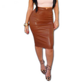 High Waisted - Pencil Skirt