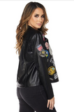 #TagMeIn Faux Leather - Jacket