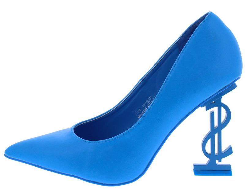 """Kash Doll"" Blue Heels."