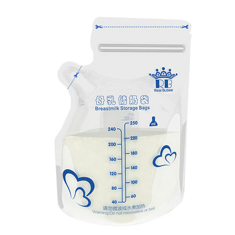 30Pcs/Pack Baby Food Storage Breast Milk Storage Bags