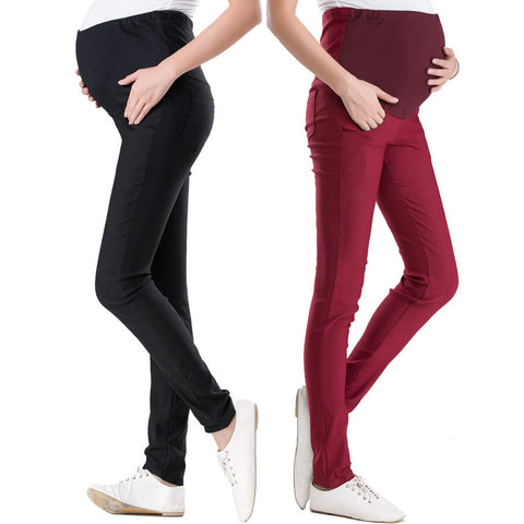 15 Color Casual Maternity Pants for Pregnant Women