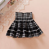 New Girls Spring & Summer Solid Skirts