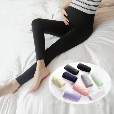 Elastic Waist Soft Stretch Modal Maternity Legging
