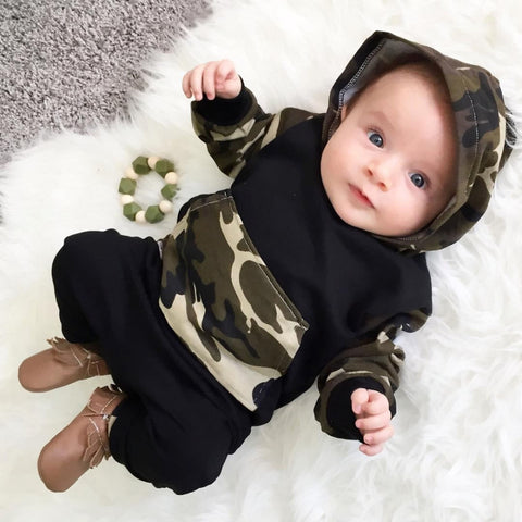 2017 Baby Boy Girl Clothing sets Hoodies Sweatshirt