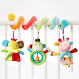Lovely Cartoon Animal Baby Toy Newborn Educational Sound
