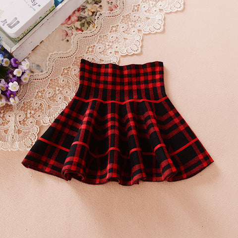 Autumn Winter Skirts For Girls Fashion School