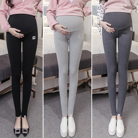 large size XL 2XL maternity legging pants spring autumn warm pregnant leggings