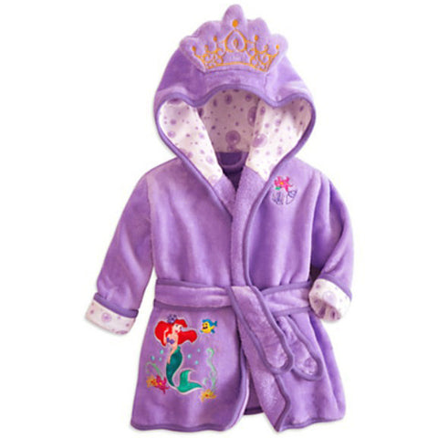EOICIOI children's bathrobes for girls baby boy gown