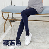 large size maternity winter leggings thick warm pants for pregnant women