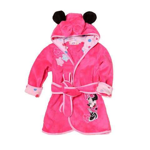 Top Quality Children Pajamas Hooded Robe