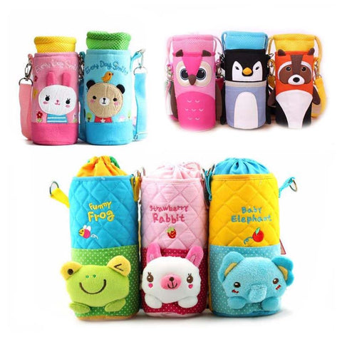 New Baby cartoon food feeding cup water bottle