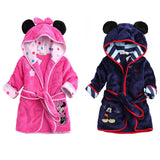Hot Sale Children Hooded Baby Boys Girls Flannel