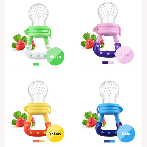 10 Pcs Baby Pacifier Fresh Food Milk Nibble