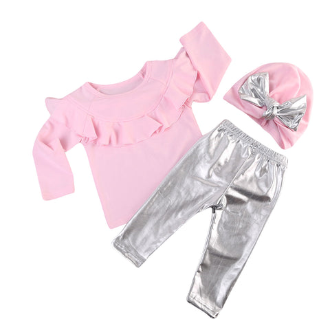 nfant Baby Girl Clothes Sets Long Sleeve Tops Sweatshirt