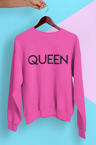 Queen : pink sweatshirt