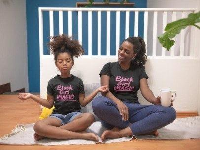 Black Girl Magic - mommy and me