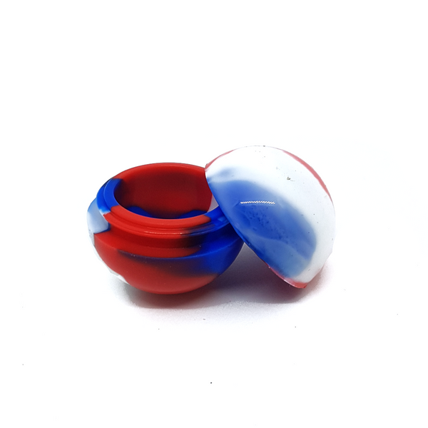 6ml Silicone Ball Concentrate Containers