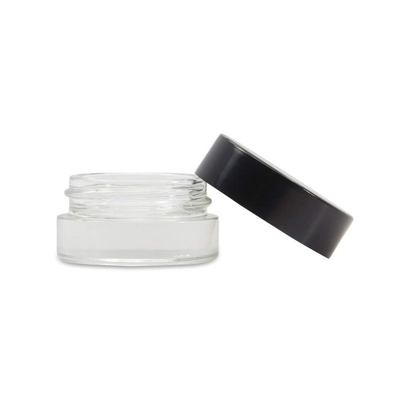 7ml Glass Shoulderless Concentrate Screw Top Jars