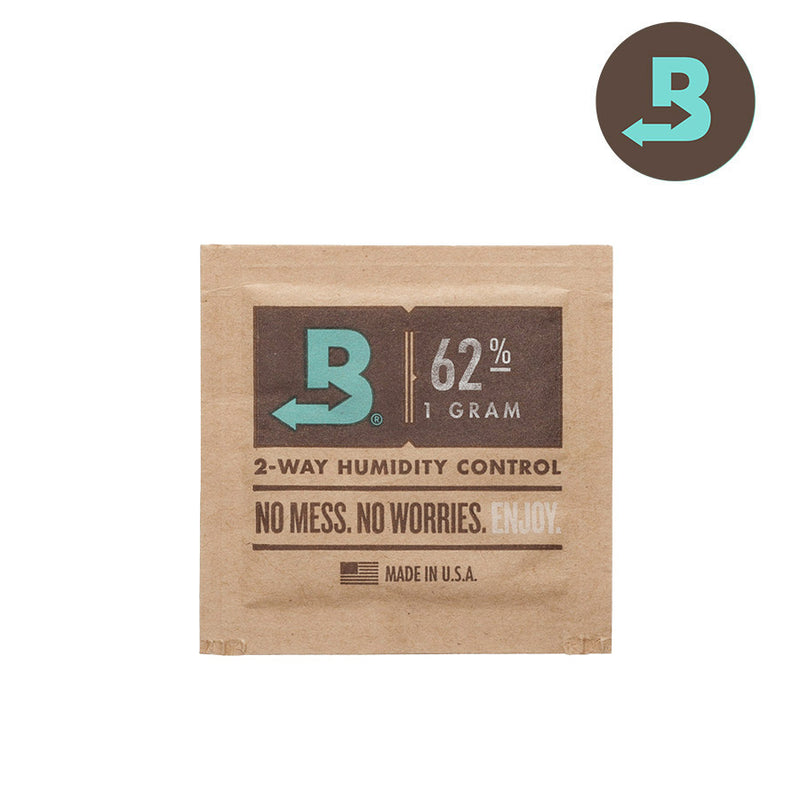 Boveda 1G Humidity Control Pack - 20/Pack - 62%