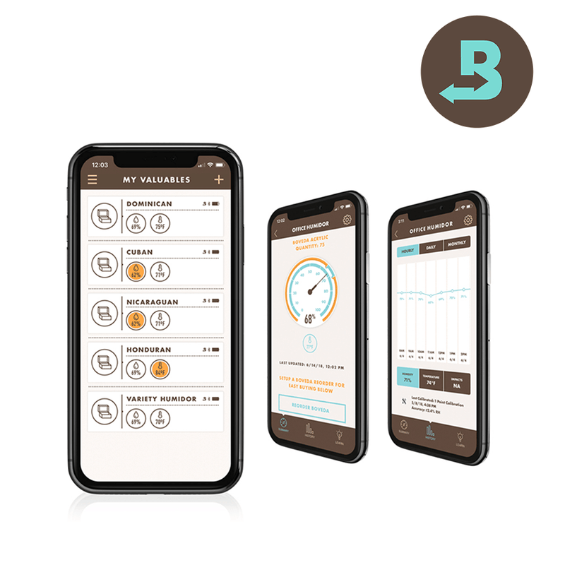 Boveda Butler - The Total Humidity Management System