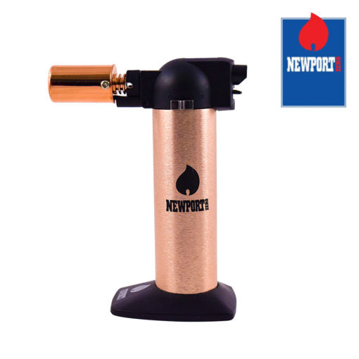 Newport Cigar Torch - Rose Gold - No Butane - 6""