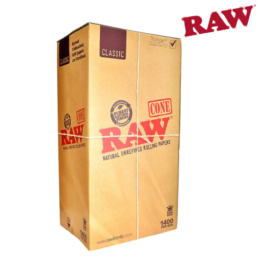 RAW KING SIZE CONE BULK – 1400