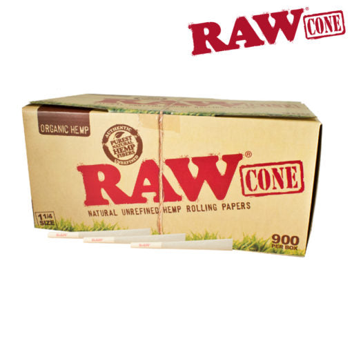 RAW ORGANIC PRE-ROLLED CONE 1¼ – 900/PACK