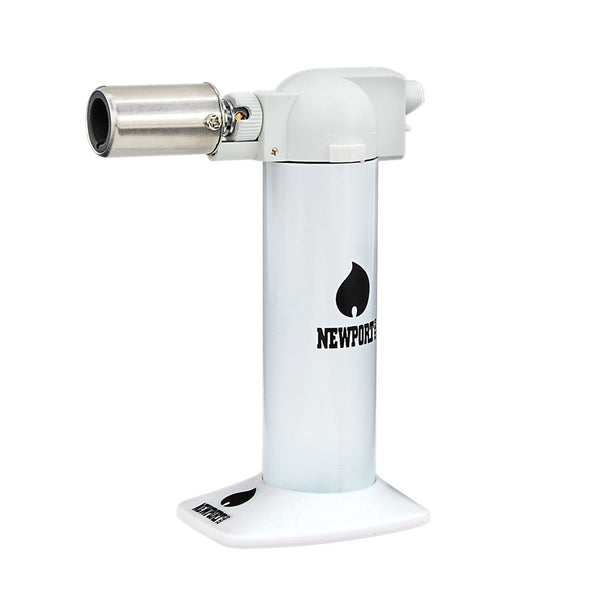 Newport Cigar Torch White - No Butane - 6""