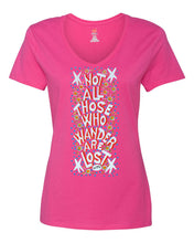 Not All Who Wander Are Lost Shirt - Ladies