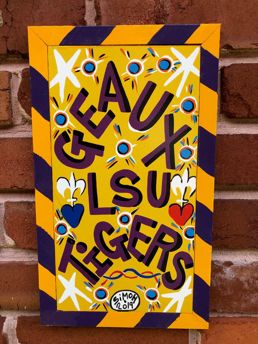Geaux LSU Tigers by Simon 2019 8