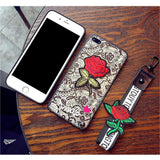 Glow Allure 3D Rose Phone Case